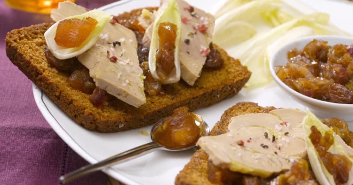 photos 5 id es de recettes au foie gras pour le repas de. Black Bedroom Furniture Sets. Home Design Ideas