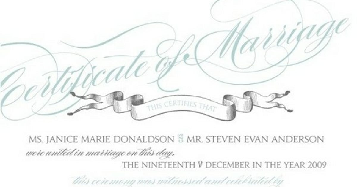 Getting Married How To Change Your Last Name After The Wedding