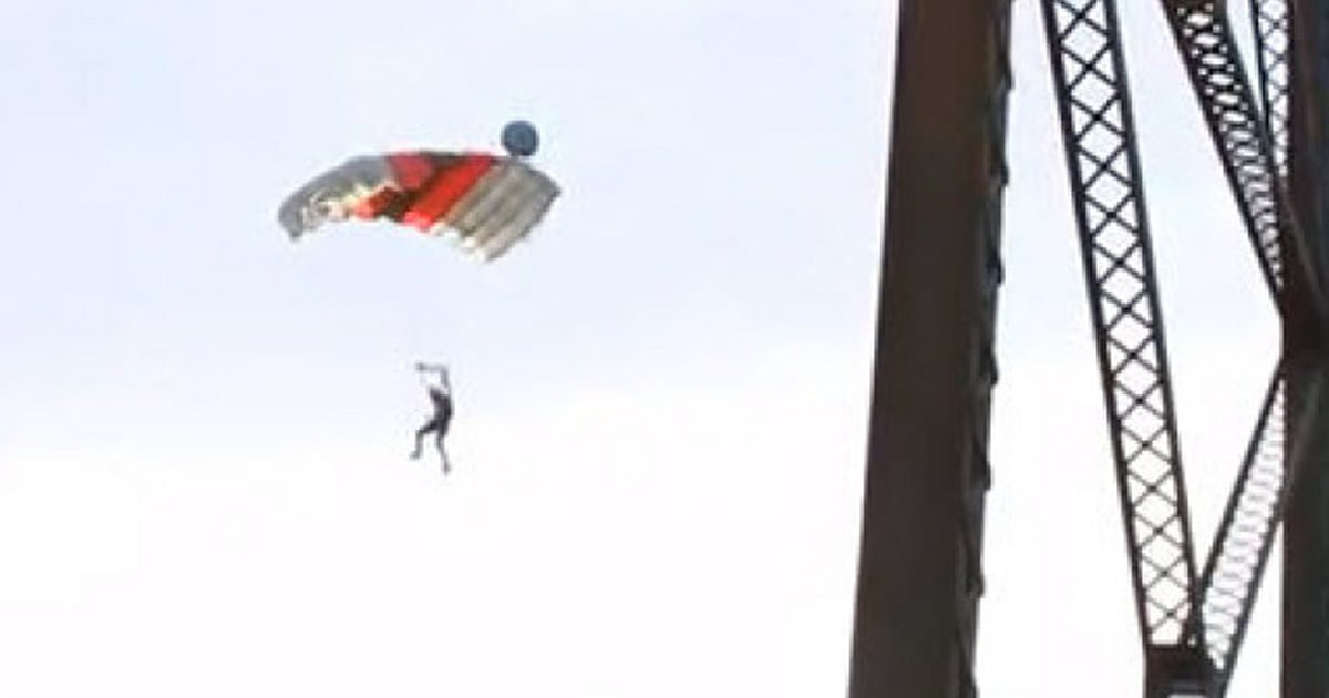 Lethbridge High Level Bridge Base Jump Video Goes Viral, Johnny Korthuis Charged (VIDEO)