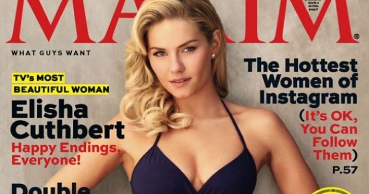 Elisha Cuthbert Is Maxim Magazine\'s Most Beautiful Woman In Television