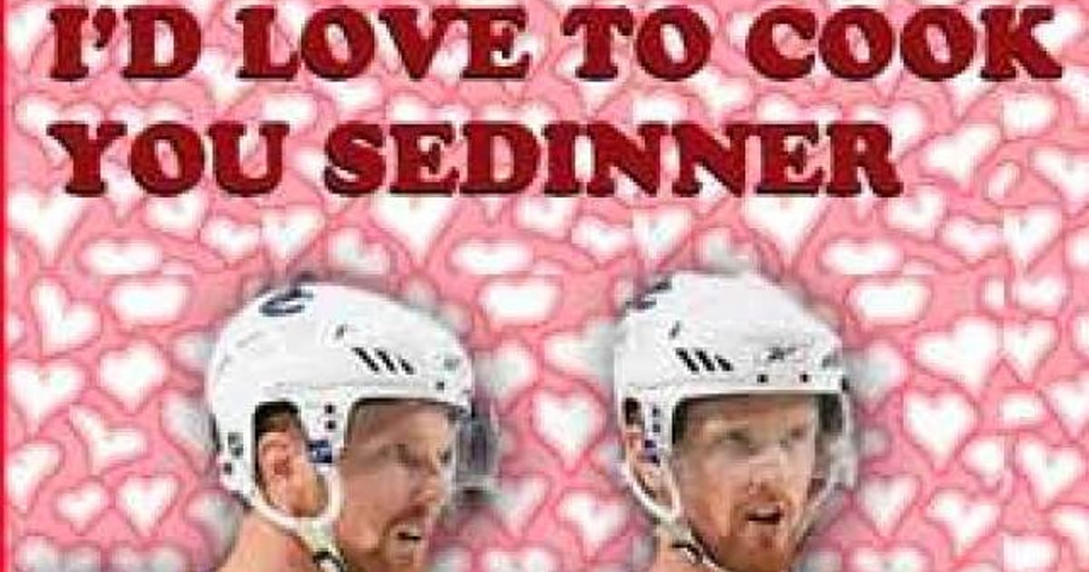 Vancouver Canucks Valentine\'s Cards Wish You A Lovely Day (PHOTOS ...
