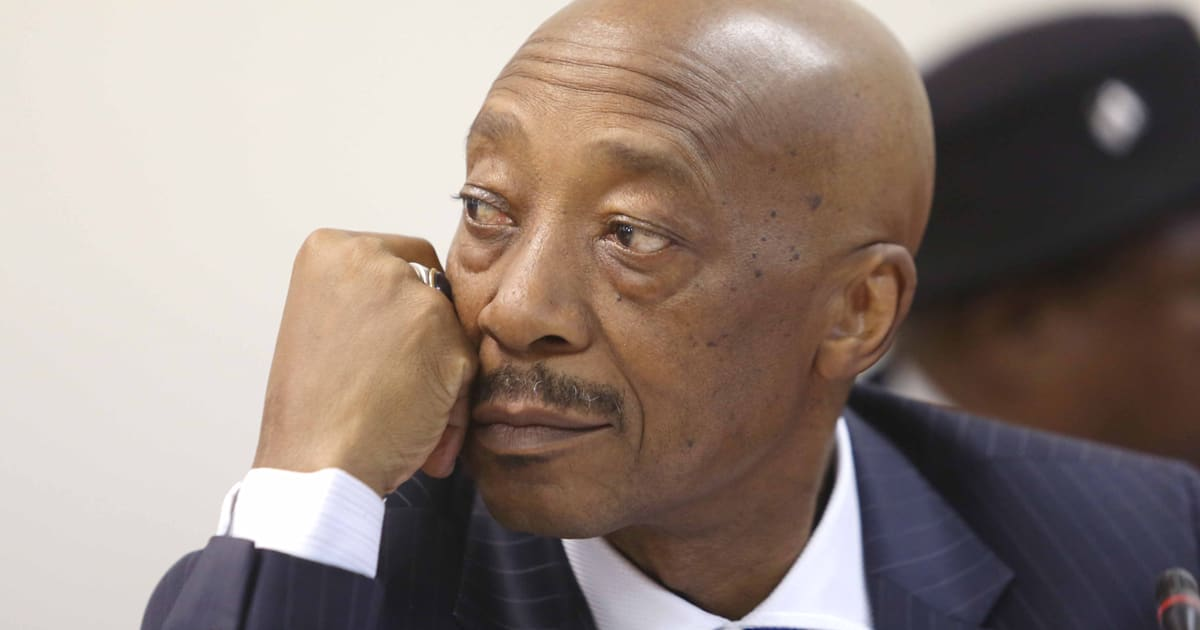 Tom Moyane Accused Of Assaulting His Grandson's 17-Year ...