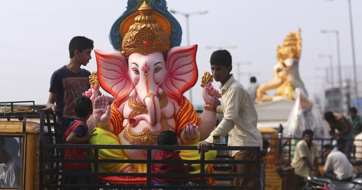 Stunning Images Of Ganesh Chaturthi 2016 Celebrations In India
