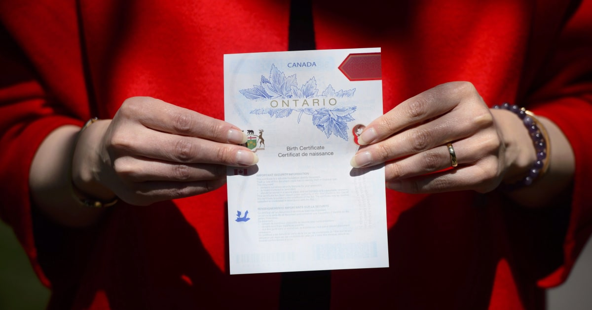 Nova Scotia To Offer Gender Neutral Option On Birth Certificates
