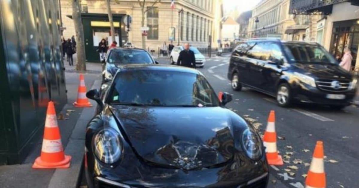 Il Gare Mal Sa Porsche Elle Se Fait Exploser Par Les