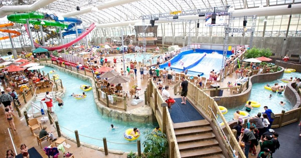 Sortir en famille au parc aquatique m me en hiver photos for Hotel autriche tyrol avec piscine