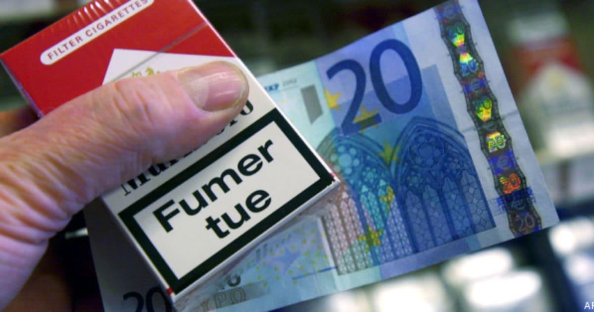 nouvelle hausse du prix du tabac en juillet jusqu 39 7 euros le paquet de cigarettes. Black Bedroom Furniture Sets. Home Design Ideas