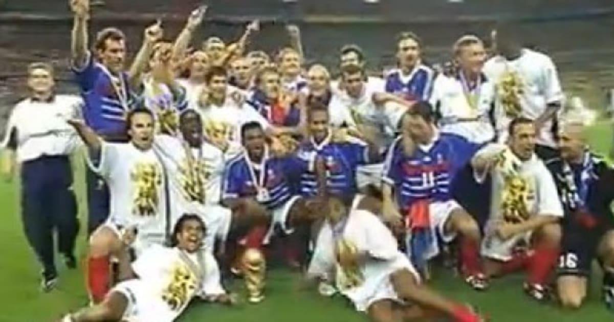 Vid os coupe du monde 98 la victoire de l 39 quipe de france a 15 ans - Coupe du monde 1998 chanson ...