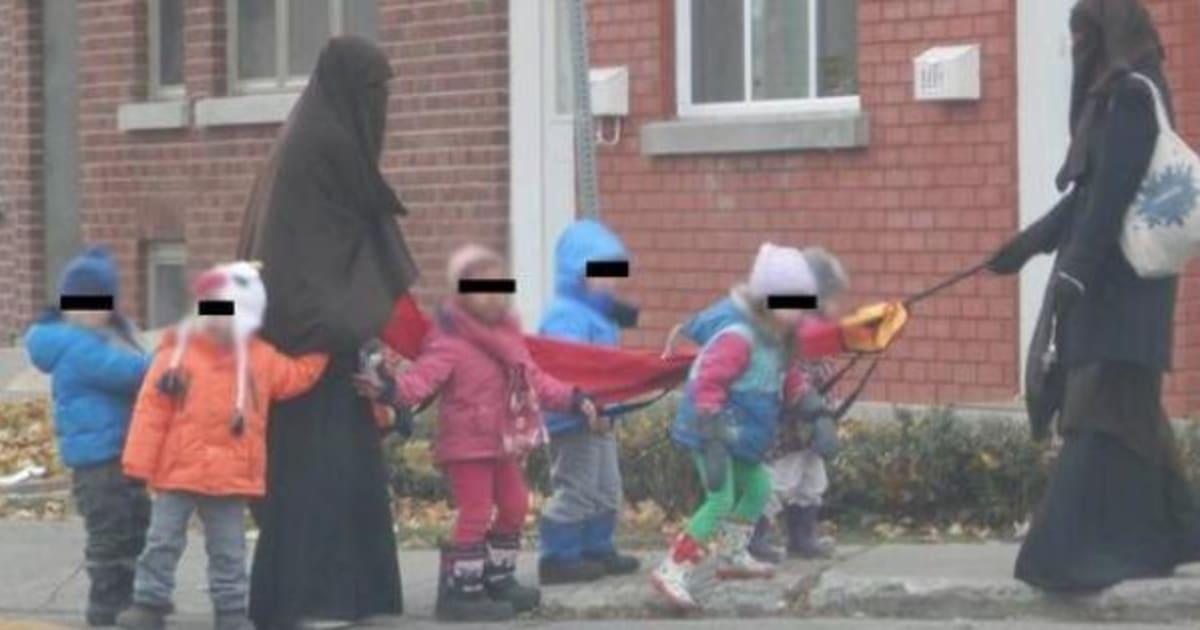 Verdun des ducatrices en garderie qui portent le niqab for Portent en francais