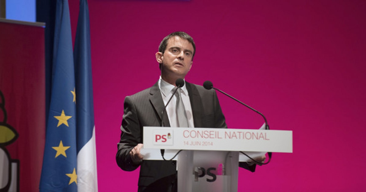 manuel valls devant le ps le risque de voir marine le pen au second tour de l 39 lection. Black Bedroom Furniture Sets. Home Design Ideas