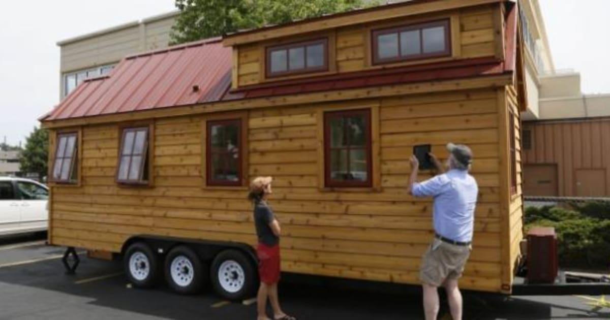 case piccole e a 4 ruote l 39 ultima moda usa tiny house movement il ritorno a una vita semplice. Black Bedroom Furniture Sets. Home Design Ideas