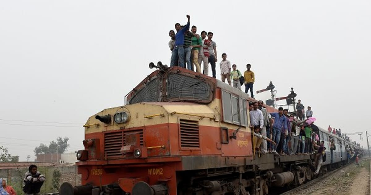 indian railways to launch mobile app for paperless ticketing in unreserved segment huffpost india. Black Bedroom Furniture Sets. Home Design Ideas