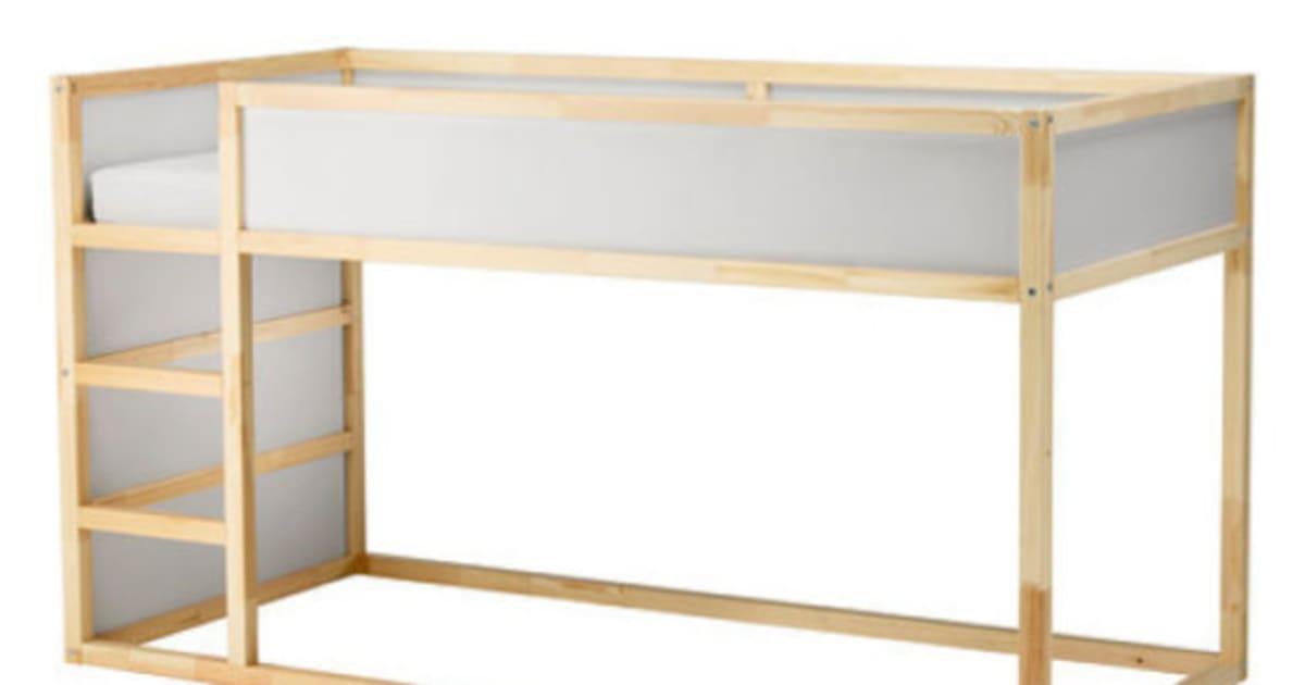 17 fa ons de modifier le lit kura d 39 ikea qui feront le. Black Bedroom Furniture Sets. Home Design Ideas