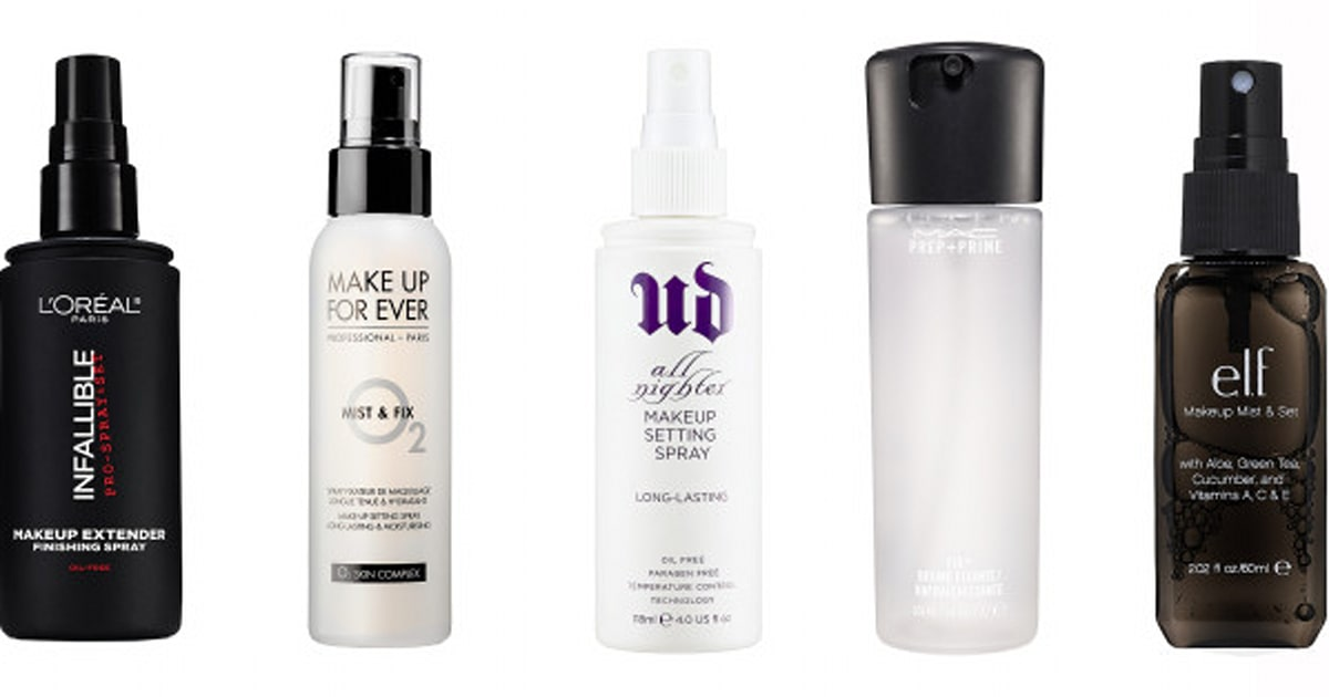 10 best makeup setting sprays for every budget huffpost canada. Black Bedroom Furniture Sets. Home Design Ideas