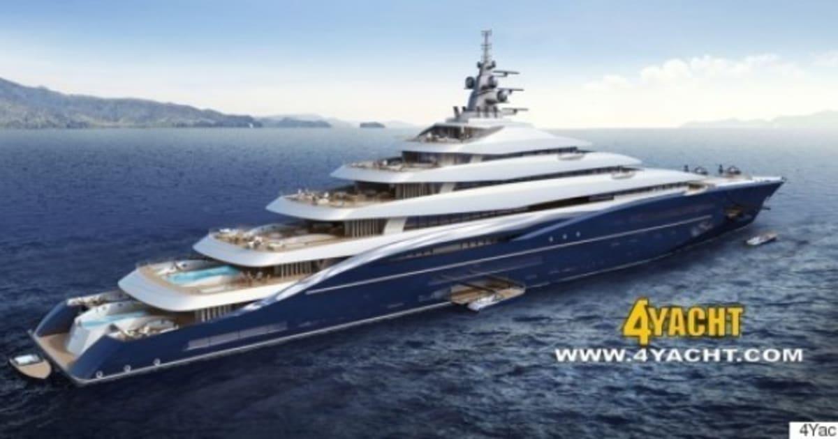 le plus gros yacht du monde en vente pour 700 millions d 39 euros le huffington post. Black Bedroom Furniture Sets. Home Design Ideas
