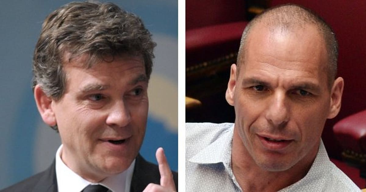 yanis varoufakis invit d 39 honneur d 39 arnaud montebourg pour la f te de la rose de frangy en. Black Bedroom Furniture Sets. Home Design Ideas