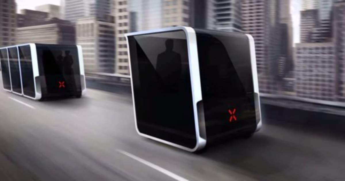 next le futur du transport donne d j un coup de vieux la voiture autonome vid o. Black Bedroom Furniture Sets. Home Design Ideas