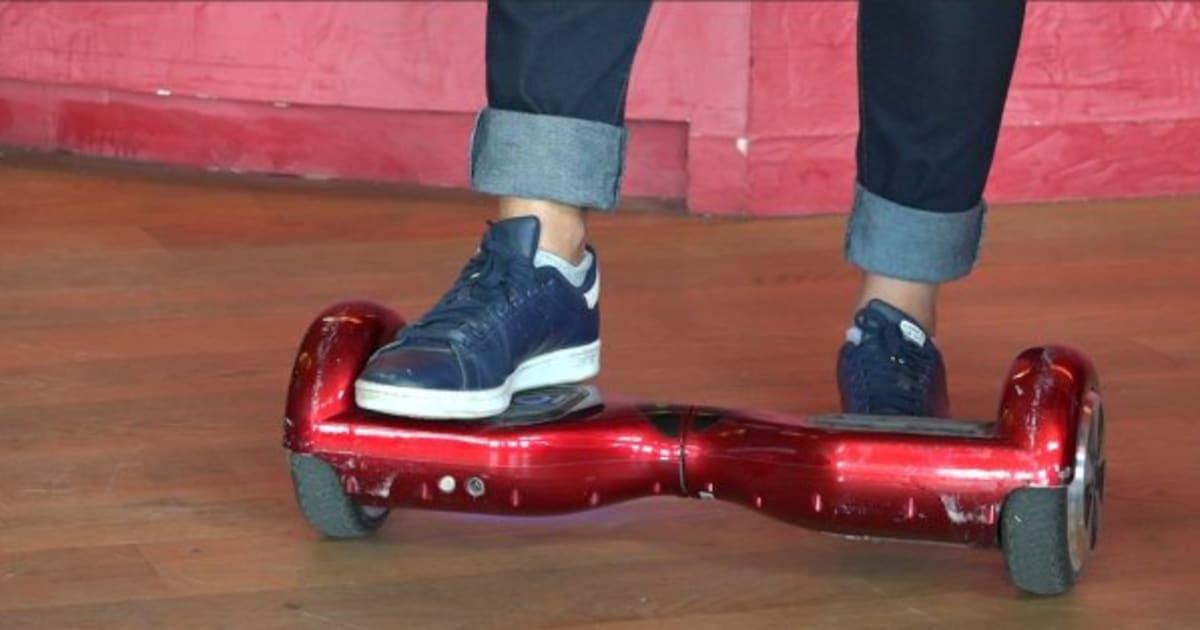Vid o skateboard gyroscopique nous avons test l for Miroir qui tombe tout seul