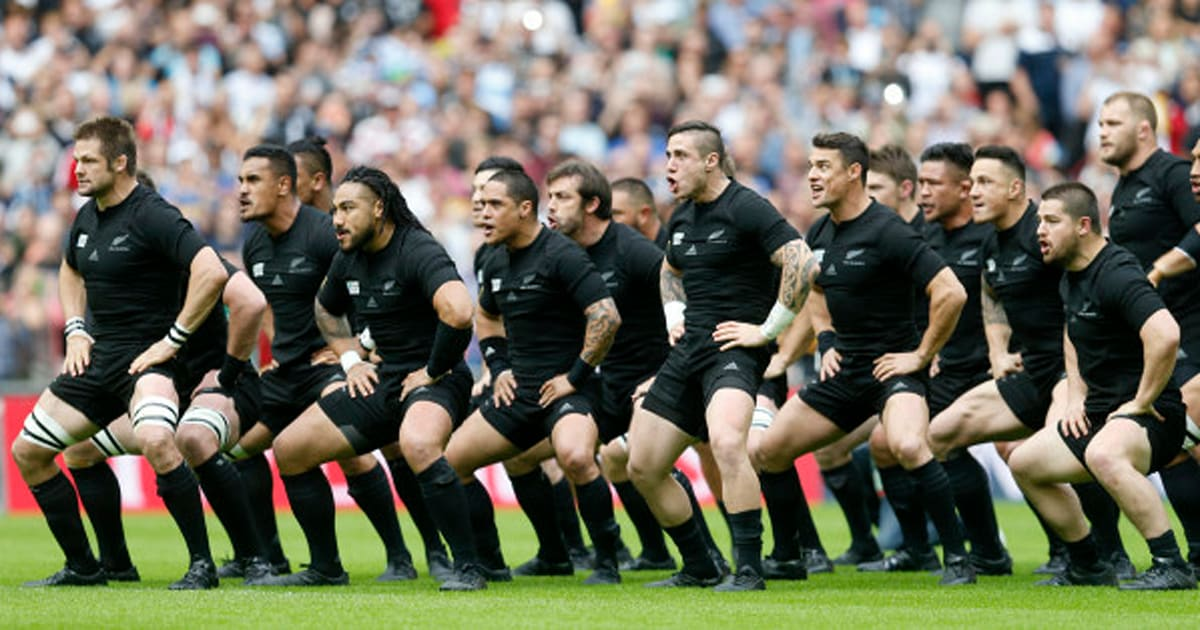 vid o le premier haka des all blacks la coupe du monde. Black Bedroom Furniture Sets. Home Design Ideas