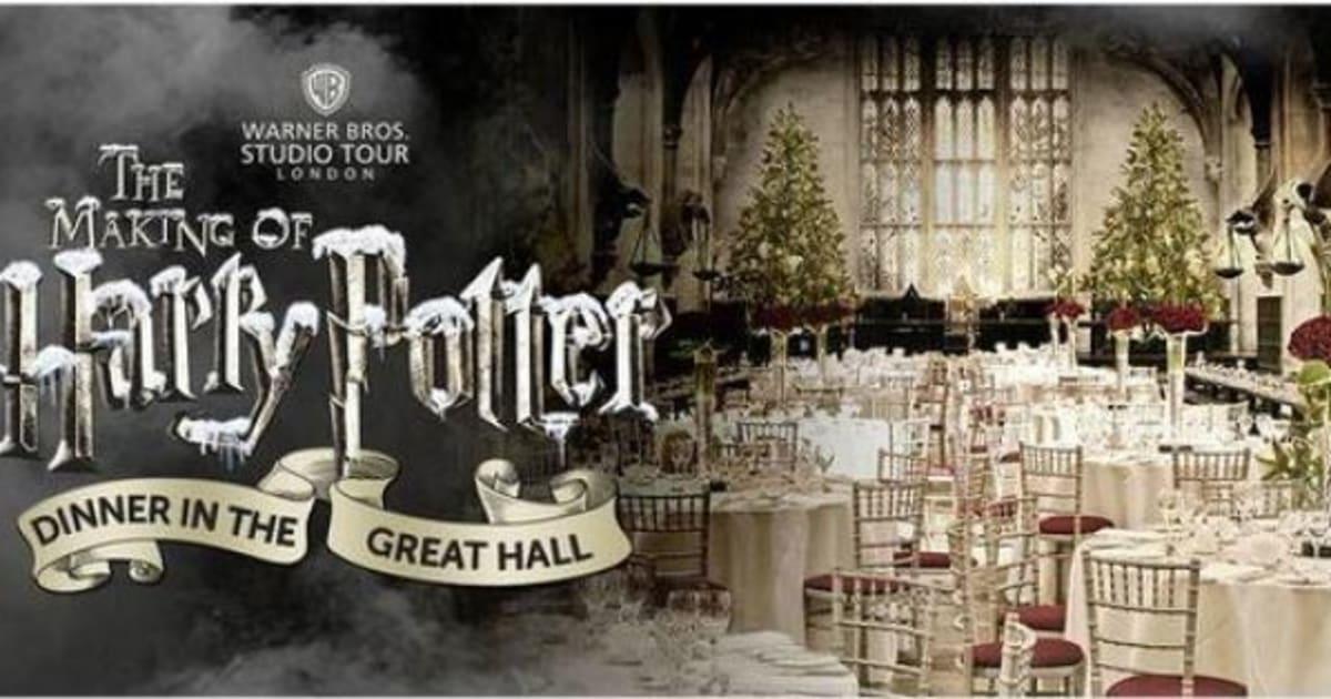Harry potter i fan potranno cenare una sera nella sala for Sala pranzo harry potter