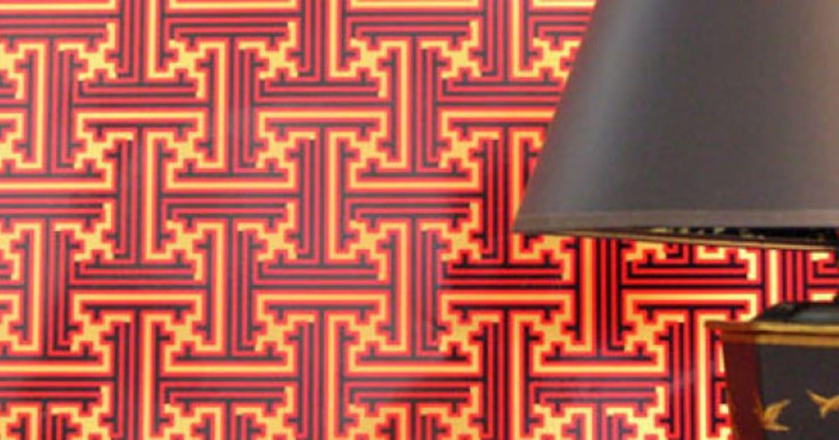 tendances d co les papiers peints qui auront la cote en 2016 photos. Black Bedroom Furniture Sets. Home Design Ideas