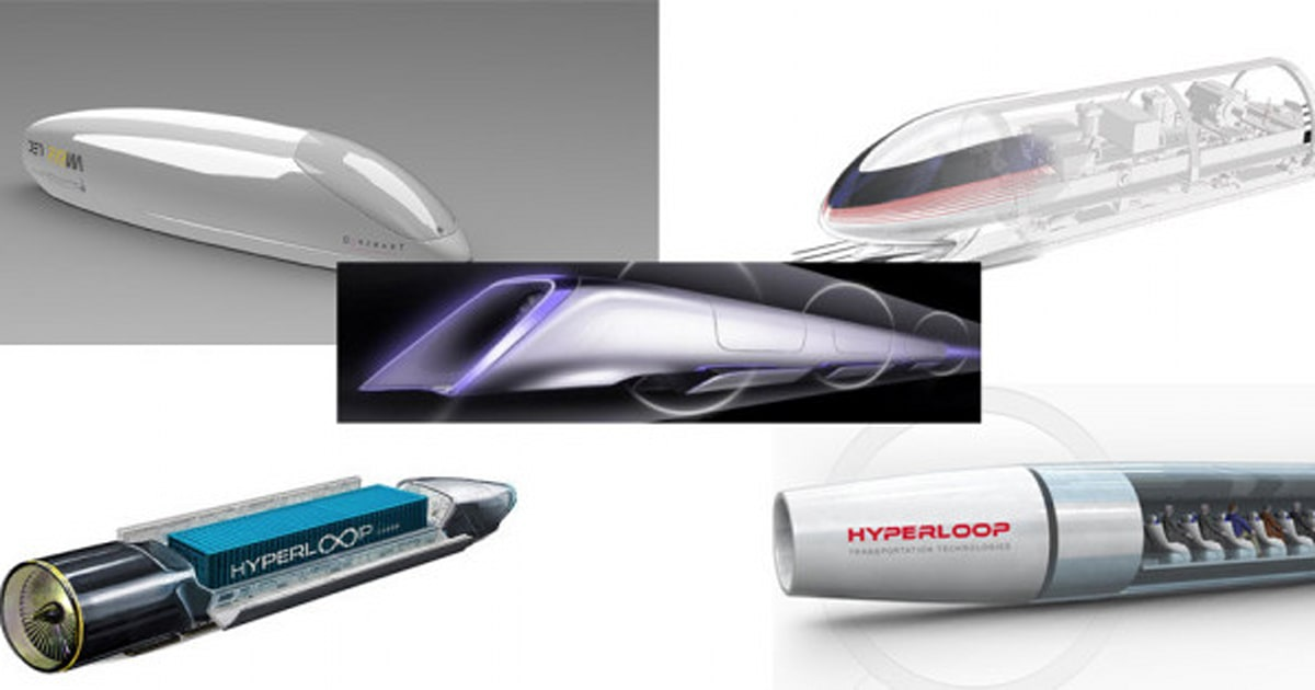 Hyperloop le projet fou de transport d 39 elon musk est for Hyperloop italia