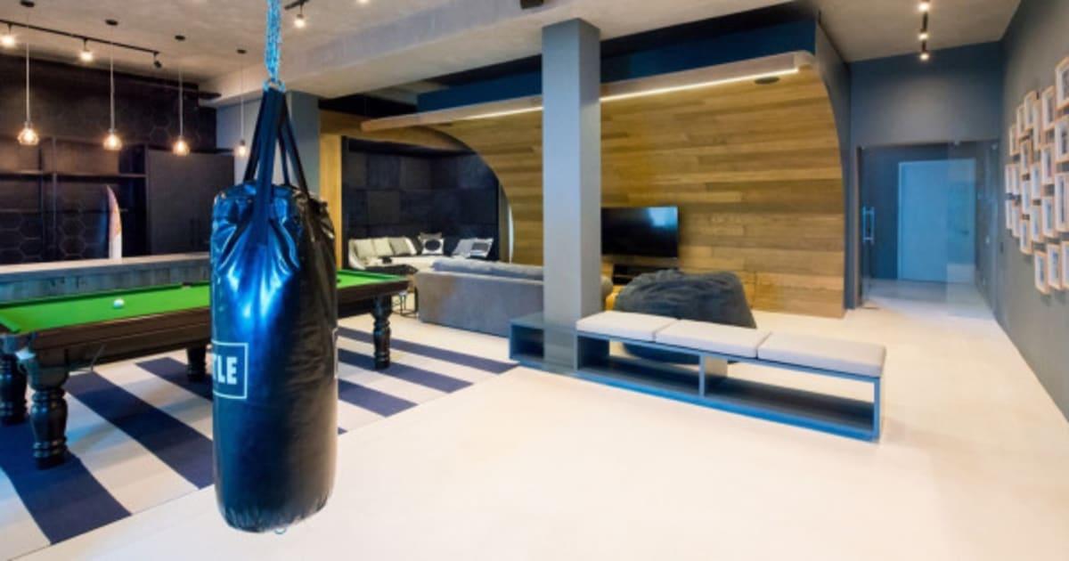 skatepark billard bar ce sous sol va vous faire r ver. Black Bedroom Furniture Sets. Home Design Ideas