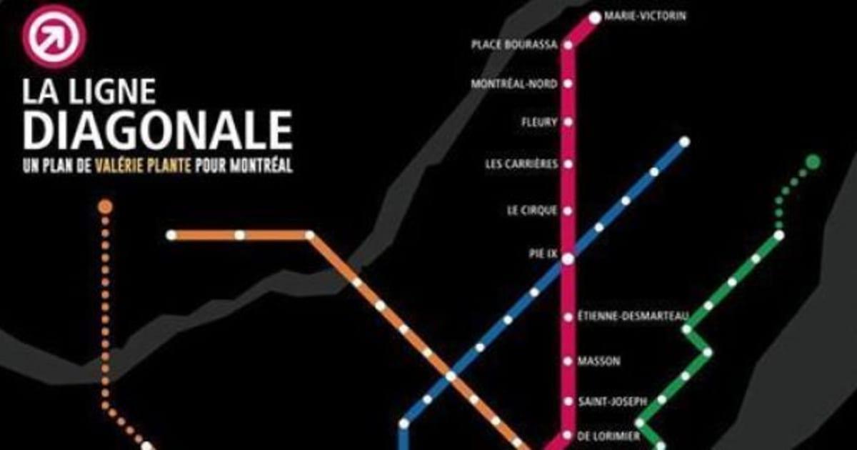 une nouvelle ligne de metro imaginee par valerie plante de With plan d une belle maison 14 une nouvelle ligne de metro imaginee par valerie plante de