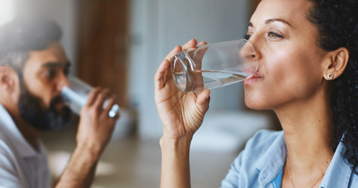 Drink only water for 30 days and this is how your health for Potable water