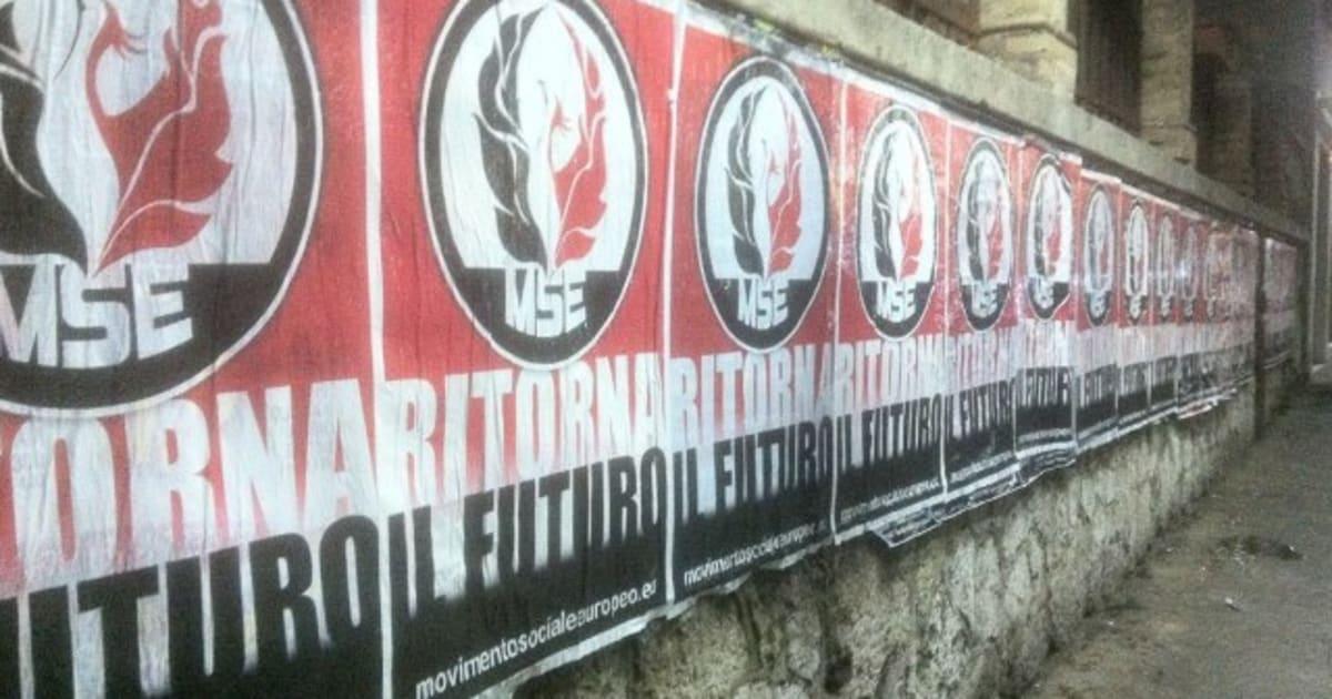 Raduno neofascisti mse nonostante appelli il corteo si for Europeo arredamenti mosciano sant angelo