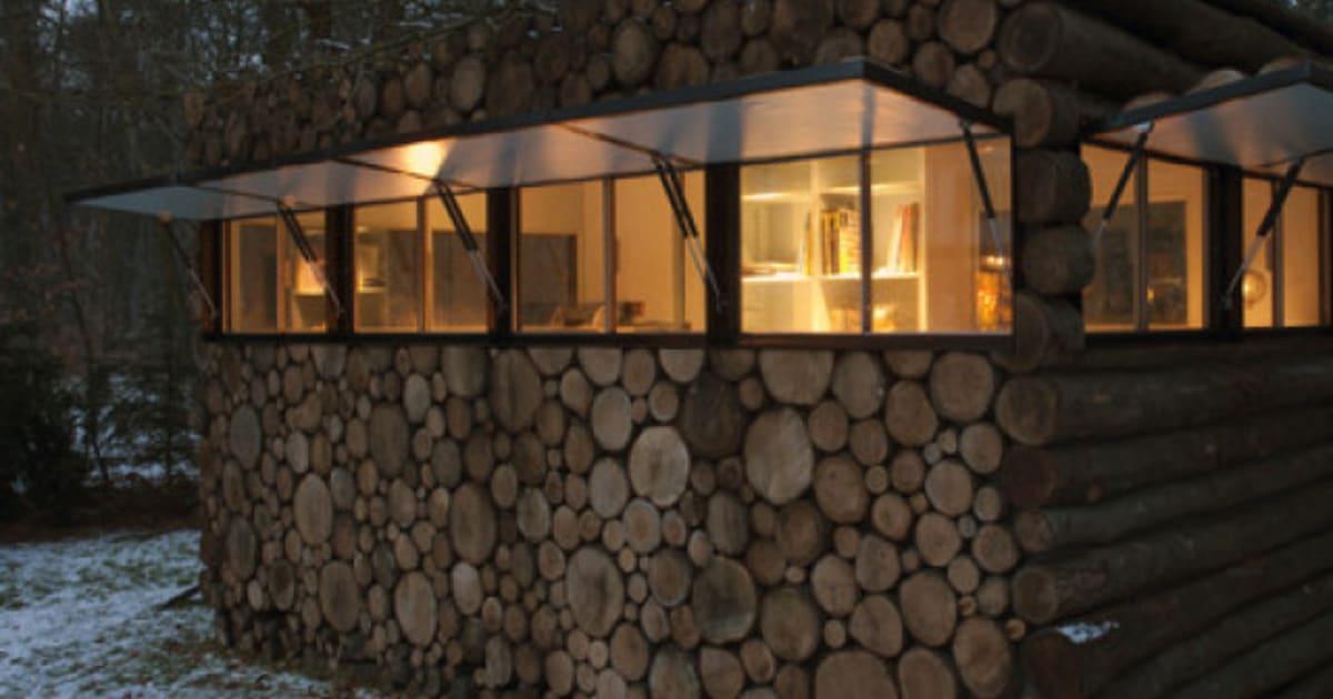 La cabane en troncs: le nouveau pavillon de jardin à la ...