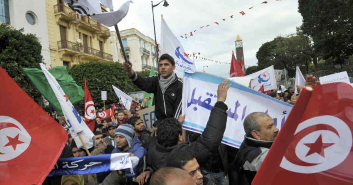 tunisie manifestation pro islamiste et anti fran aise tunis. Black Bedroom Furniture Sets. Home Design Ideas