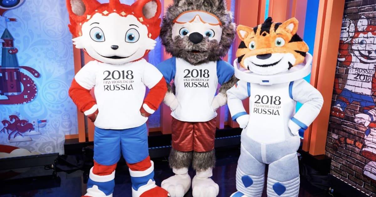 D couvrez la mascotte du mondial 2018 - La mascotte de la coupe du monde 2014 ...
