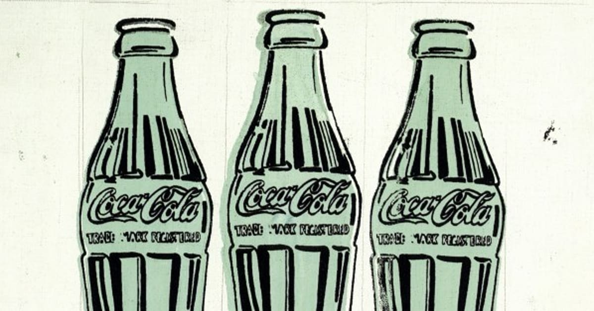 an essay on the life of andy warhol and the coca cola bottles pop art The print medium used in coca-cola bottles by andy warhol is silkscreen print, a technique that was innovative for his time (beginning of the 1960s.