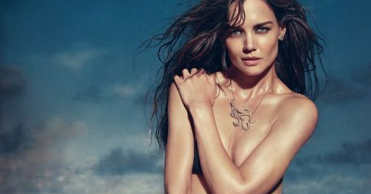 Opinion Katie holmes tits