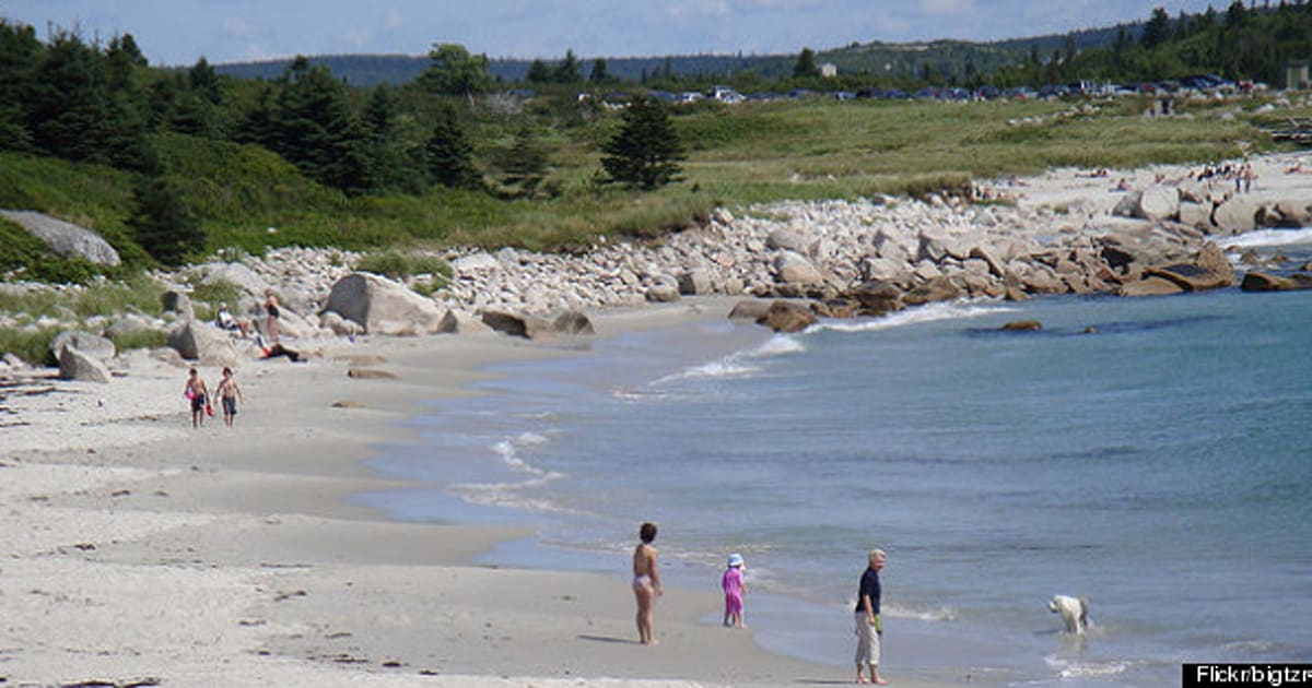 Naked beach in canada