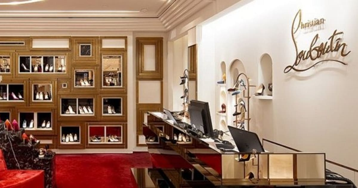 christian louboutin shops in the