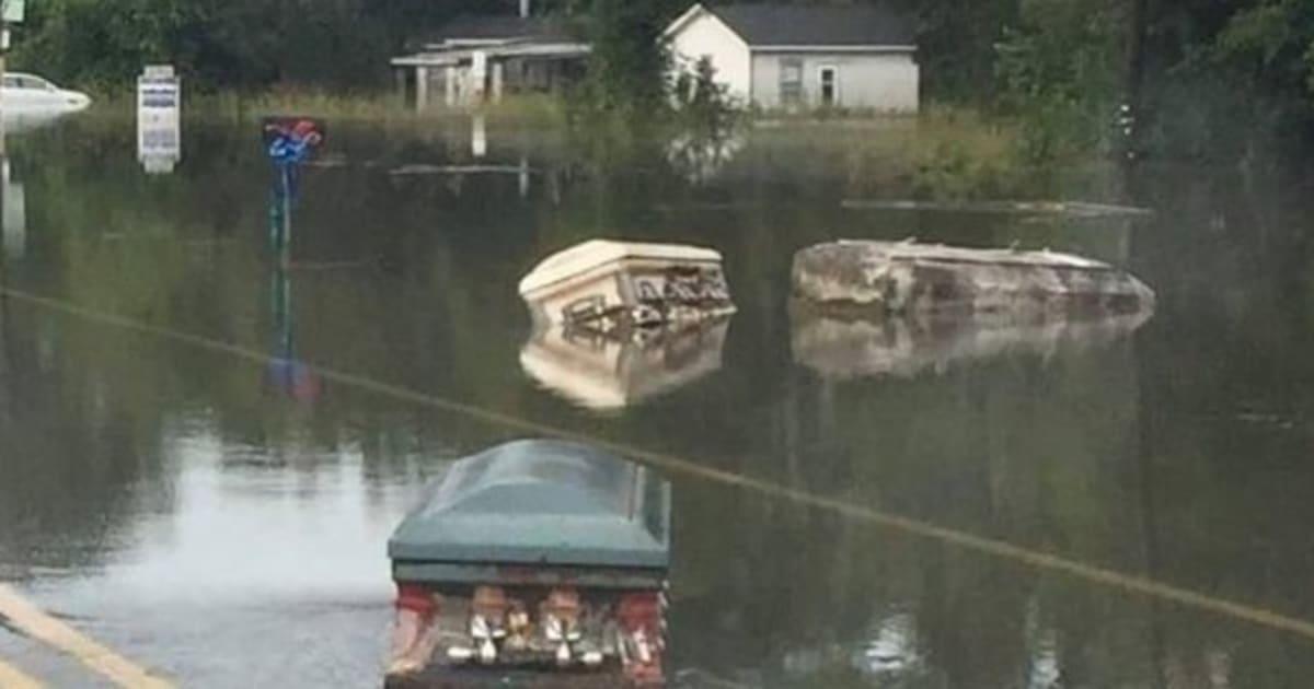 cercueil flottant
