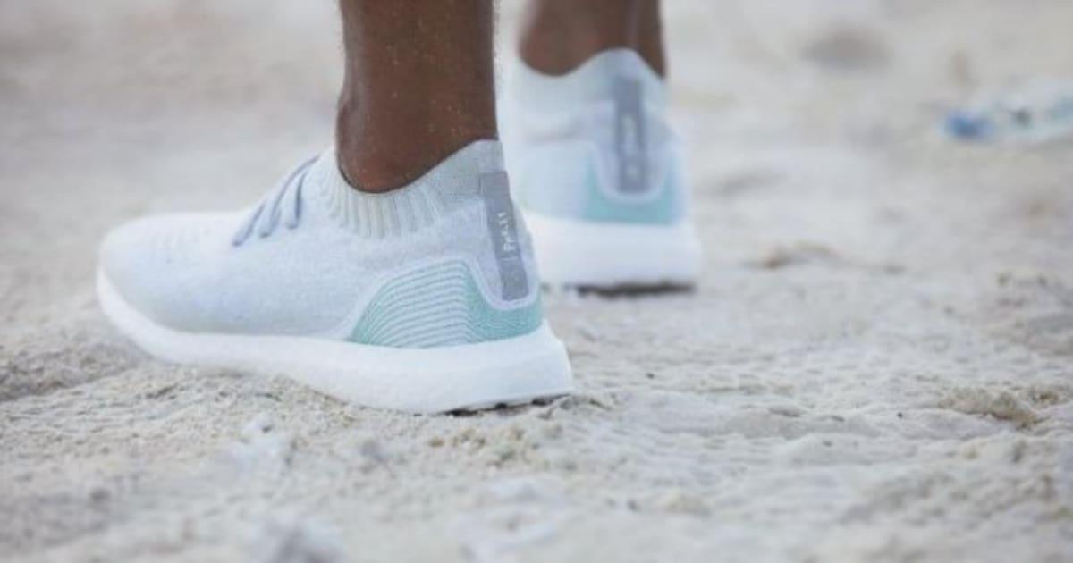 adidas scarpe rifiuti oceano