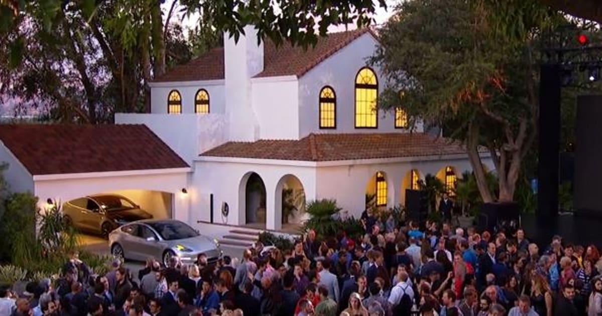 tesla 39 s solar roof will cost less than a normal roof elon musk says. Black Bedroom Furniture Sets. Home Design Ideas