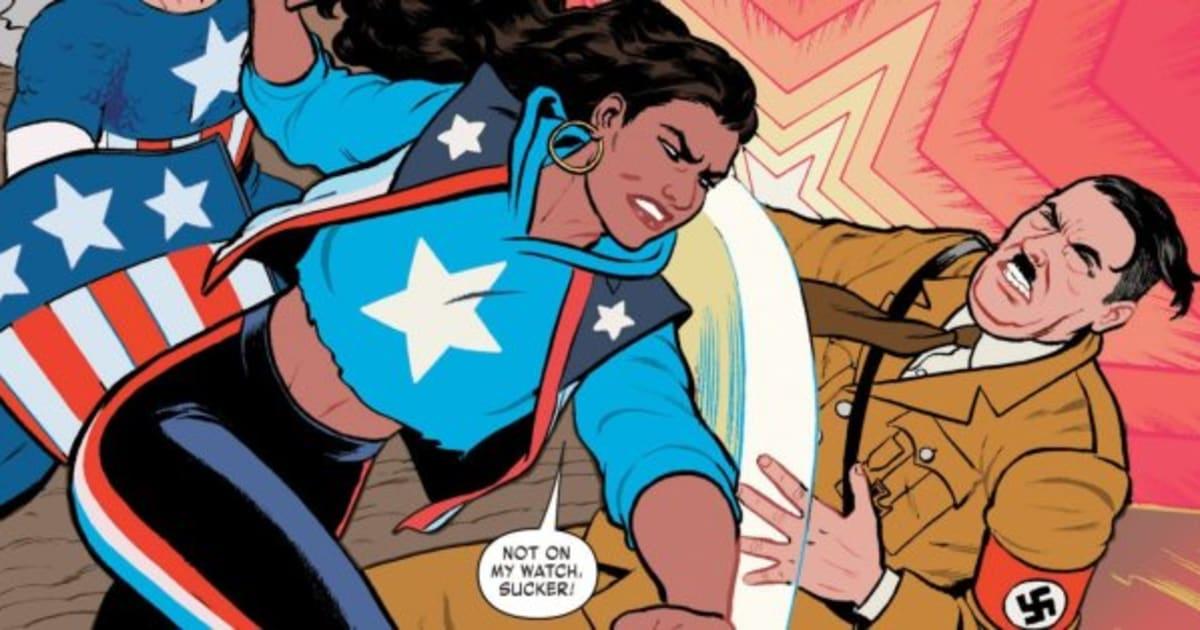 Women of comics xxx marvel