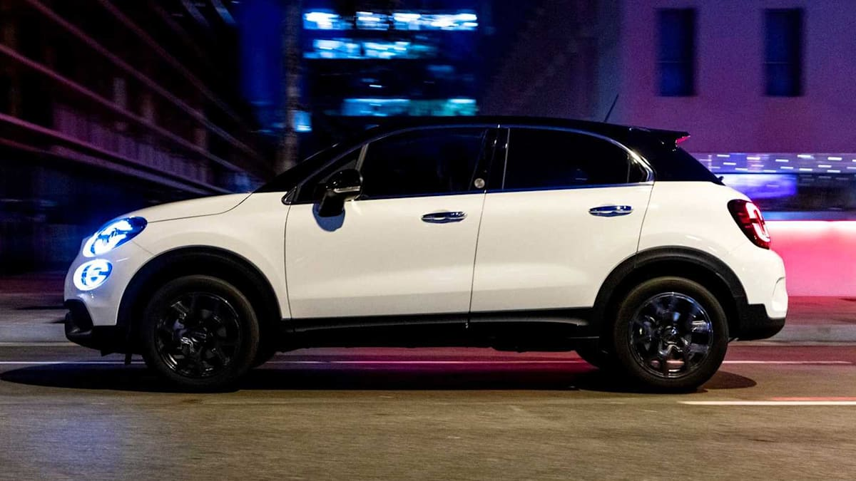 2019 Fiat 500X gets two-tone 120th Anniversary Edition