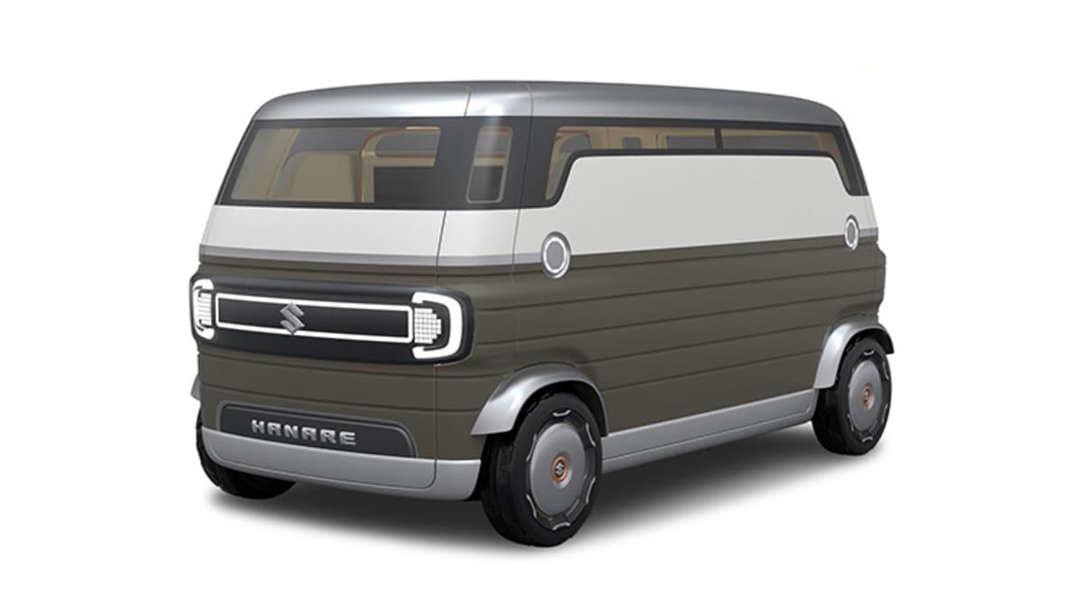 Suzuki is bringing retro hybrid coupe and autonomous van concepts to Tokyo Motor Show