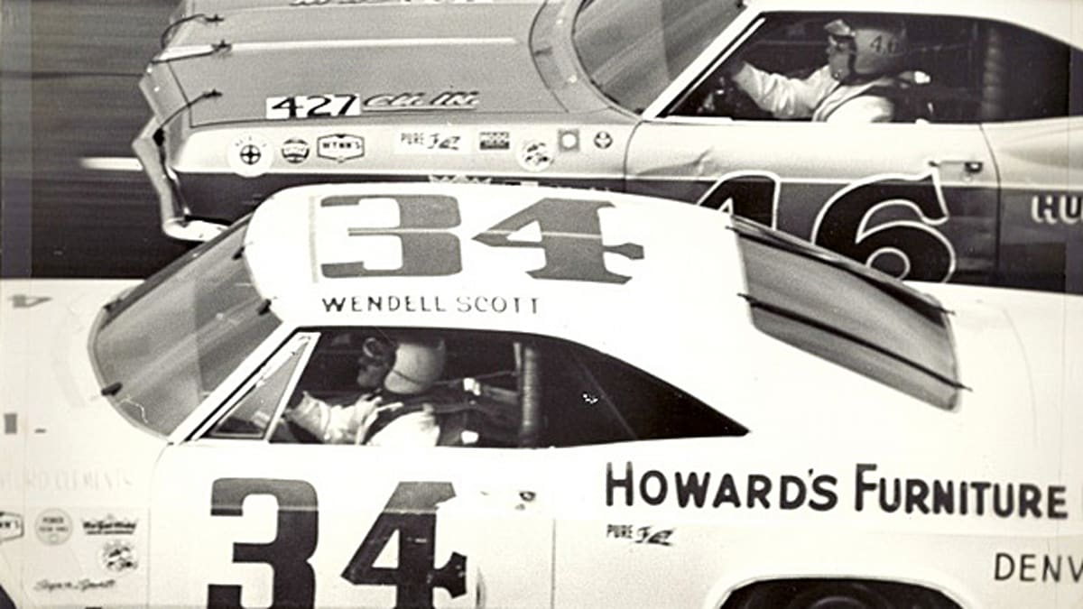 This hall-of-famer was the first Black American full-time competitor in NASCAR history