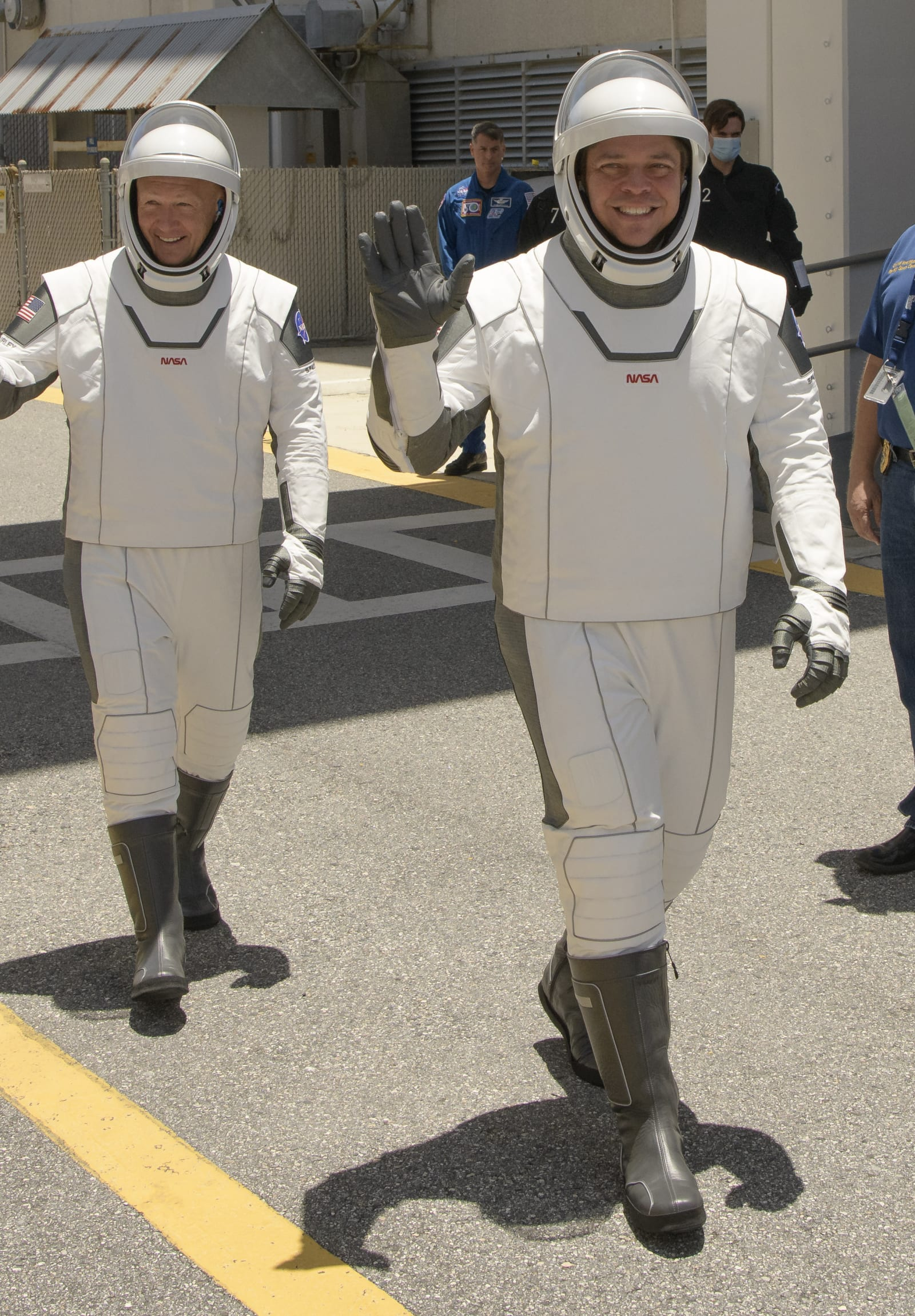 Astronauts will fly SpaceX's cool capsule in fashionable ...