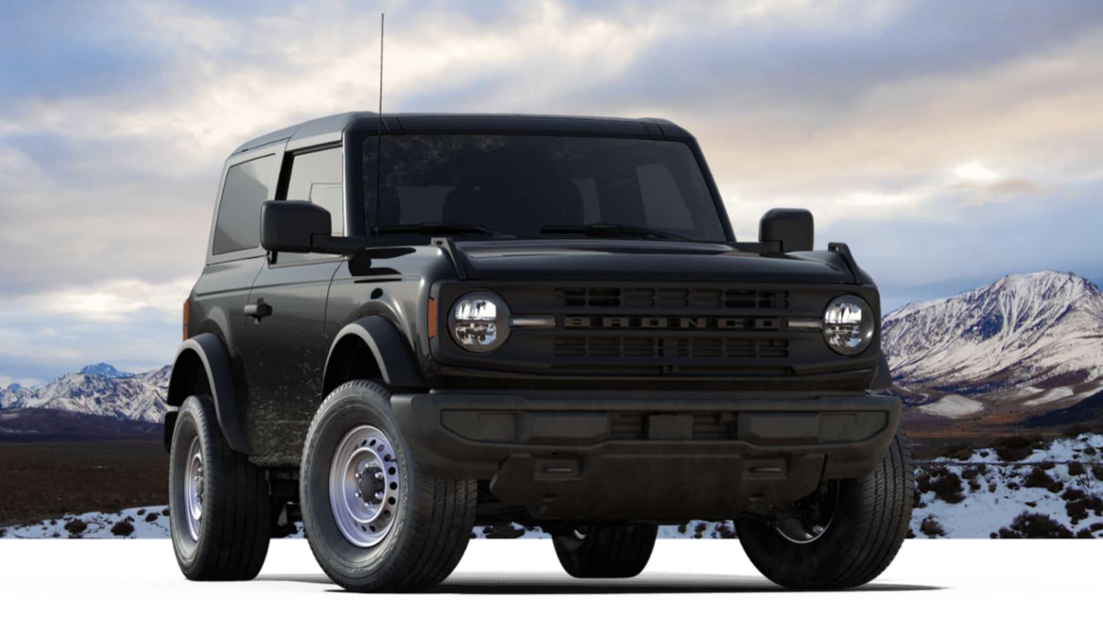 2021 Ford Bronco base trim