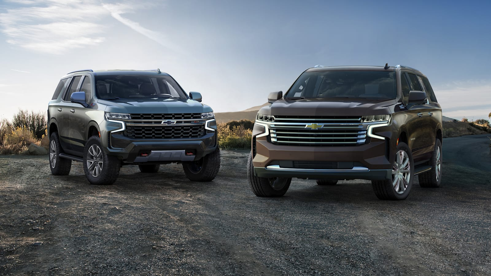 Chevrolet Suburban and Tahoe debut with new style