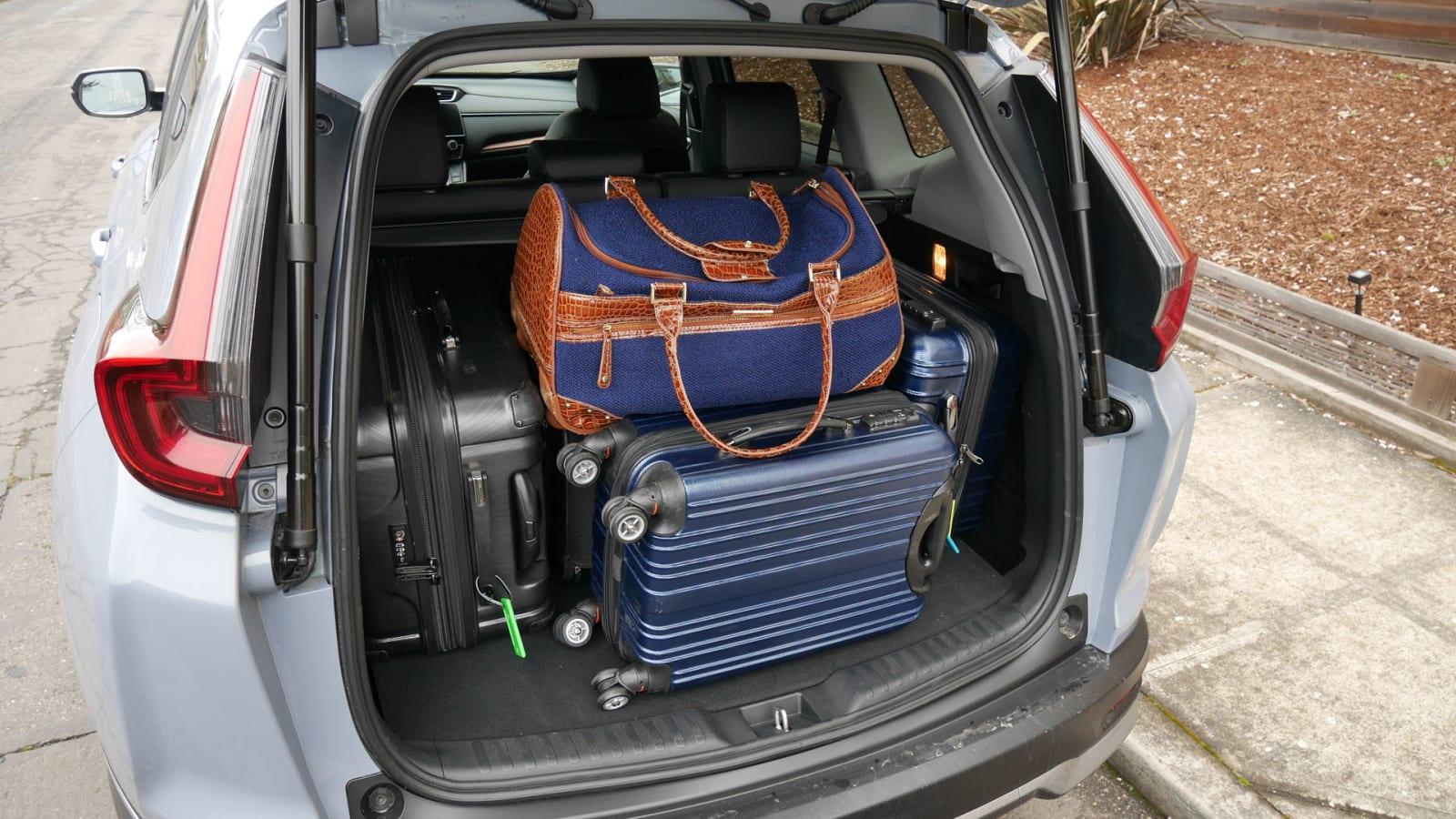 10 Honda CR-V vs 10 Toyota RAV10 Cargo Comparison  How much