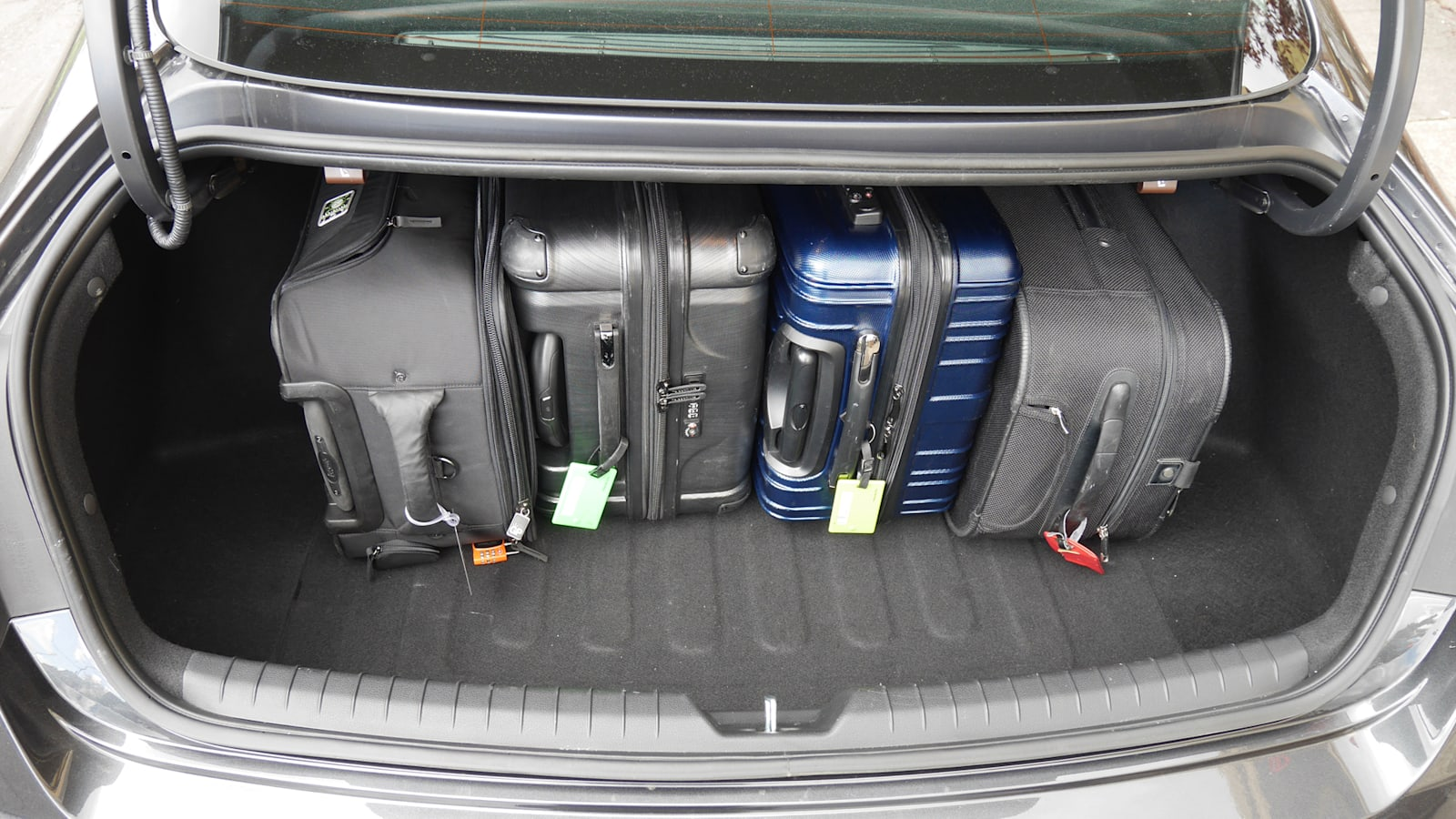 2020 Hyundai Sonata Luggage Test | How much fits in the trunk?