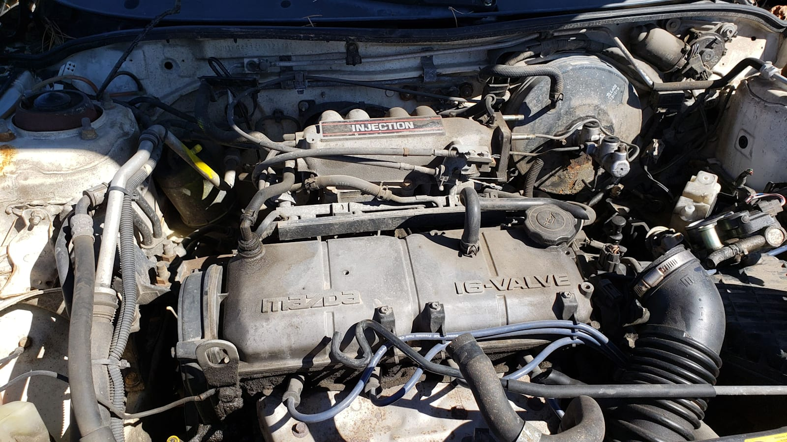 [DIAGRAM_38IU]  Junkyard Gem: 1992 Mazda MX-3 | Autoblog | Mazda Mx3 Engine Diagram |  | Autoblog
